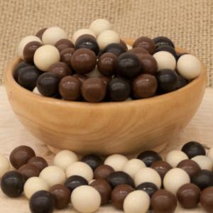 Bitter Sütlü Fildişi Çikolatalı Leblebi